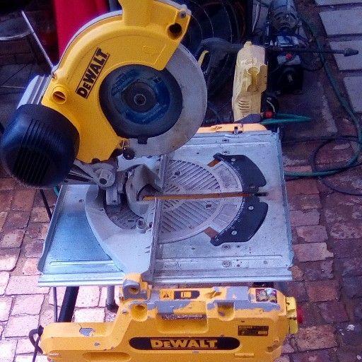 Dewalt flip over saw,