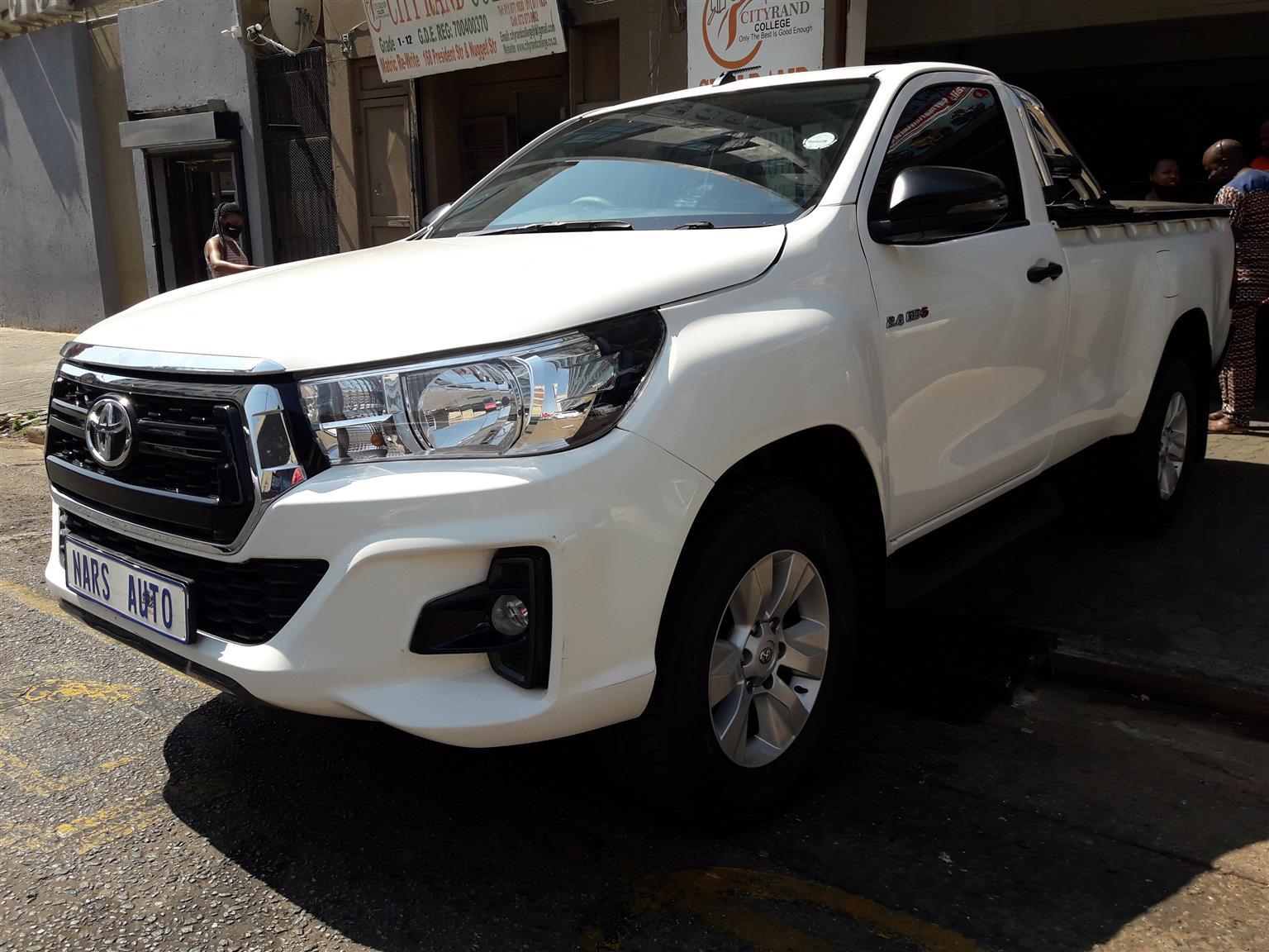 2019 Toyota Hilux single cab HILUX 2.4 GD 6 RB SRX P/U S/C