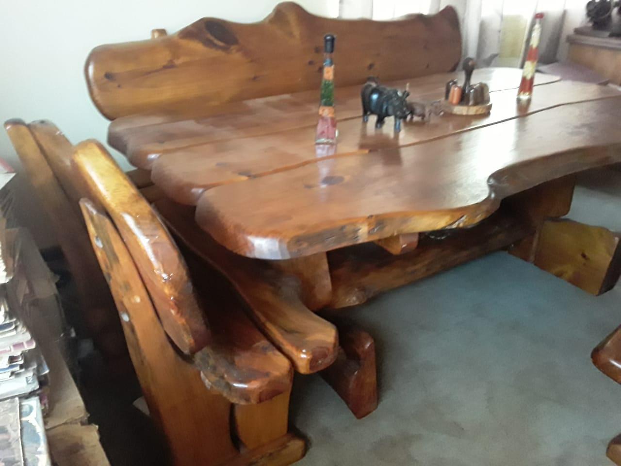Solid wood diner
