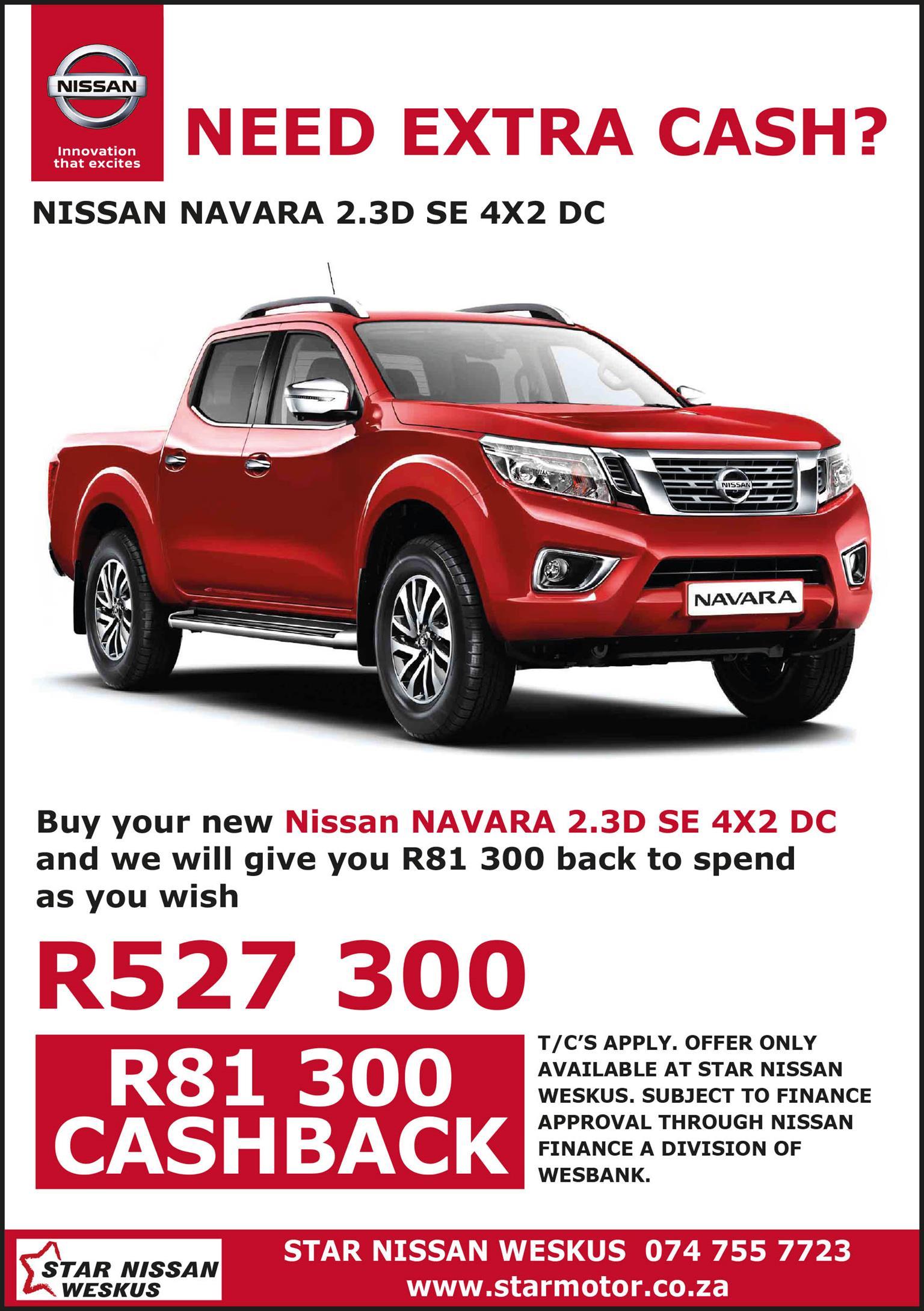 2020 Nissan Navara 2.3D double cab 4x4 LE