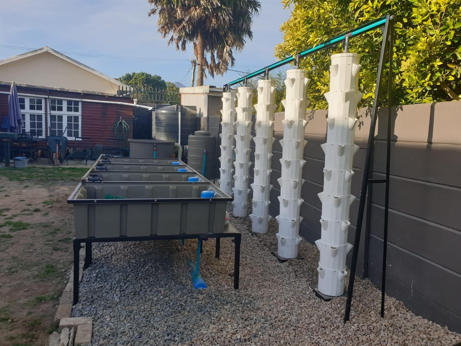 BioPonics Hydroponic Grow Towers