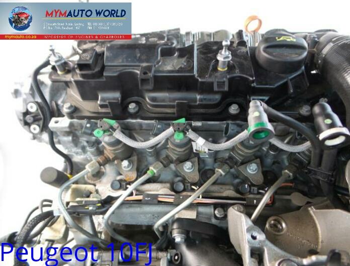 Imported used  PEUGEOT 207,10FJ engine Complete