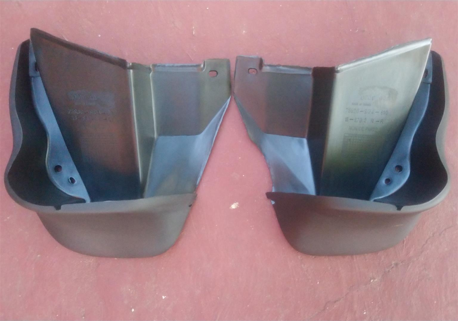 Honda Ballade S04 Mud Flaps (Bumper with beading)