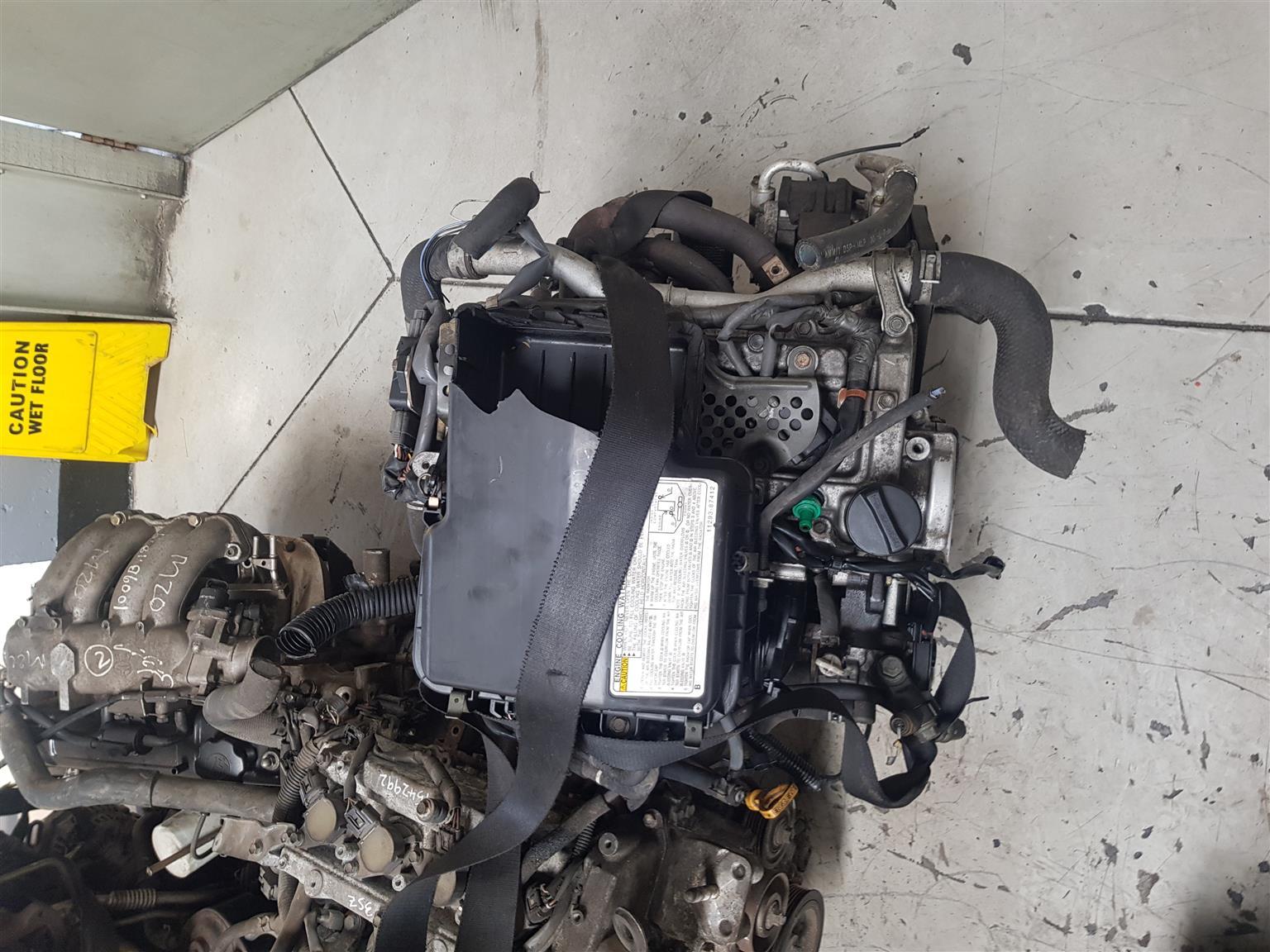 K3 AVANZA 1.3 REAR WHEEL DRIVE ENGINE FOR SALE