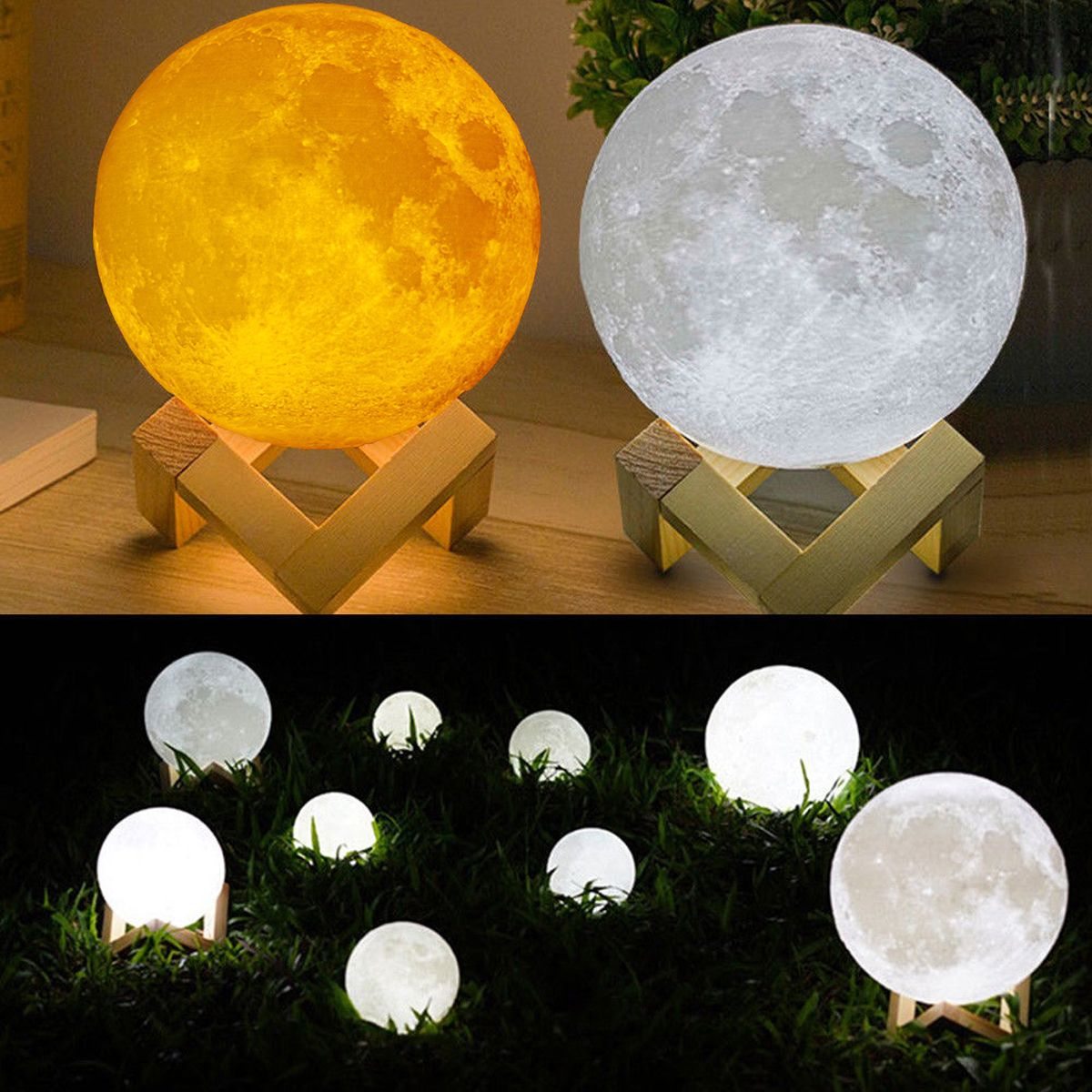 3D Moon Light Lamp 20CM