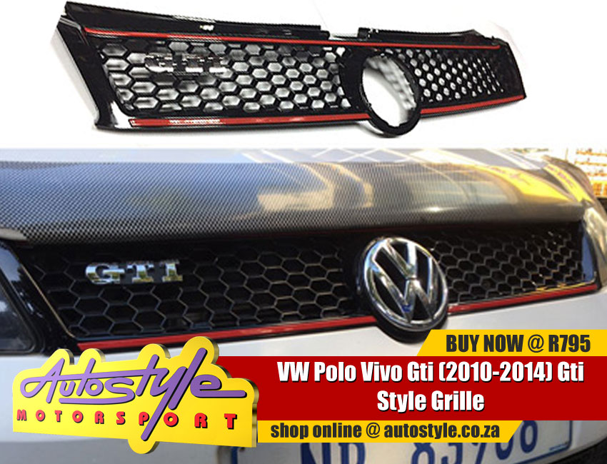 2014 VW Polo Gti Grille Kit exc badge- full range accessories, mags, tyres,kits, lighting, car audio