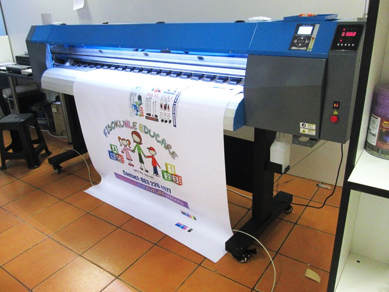 F-1866/ECO/DX7 FastCOLOUR 1860mm EPSON® DX7 Printhead Large-Format ECO Solvent Ink Inkjet