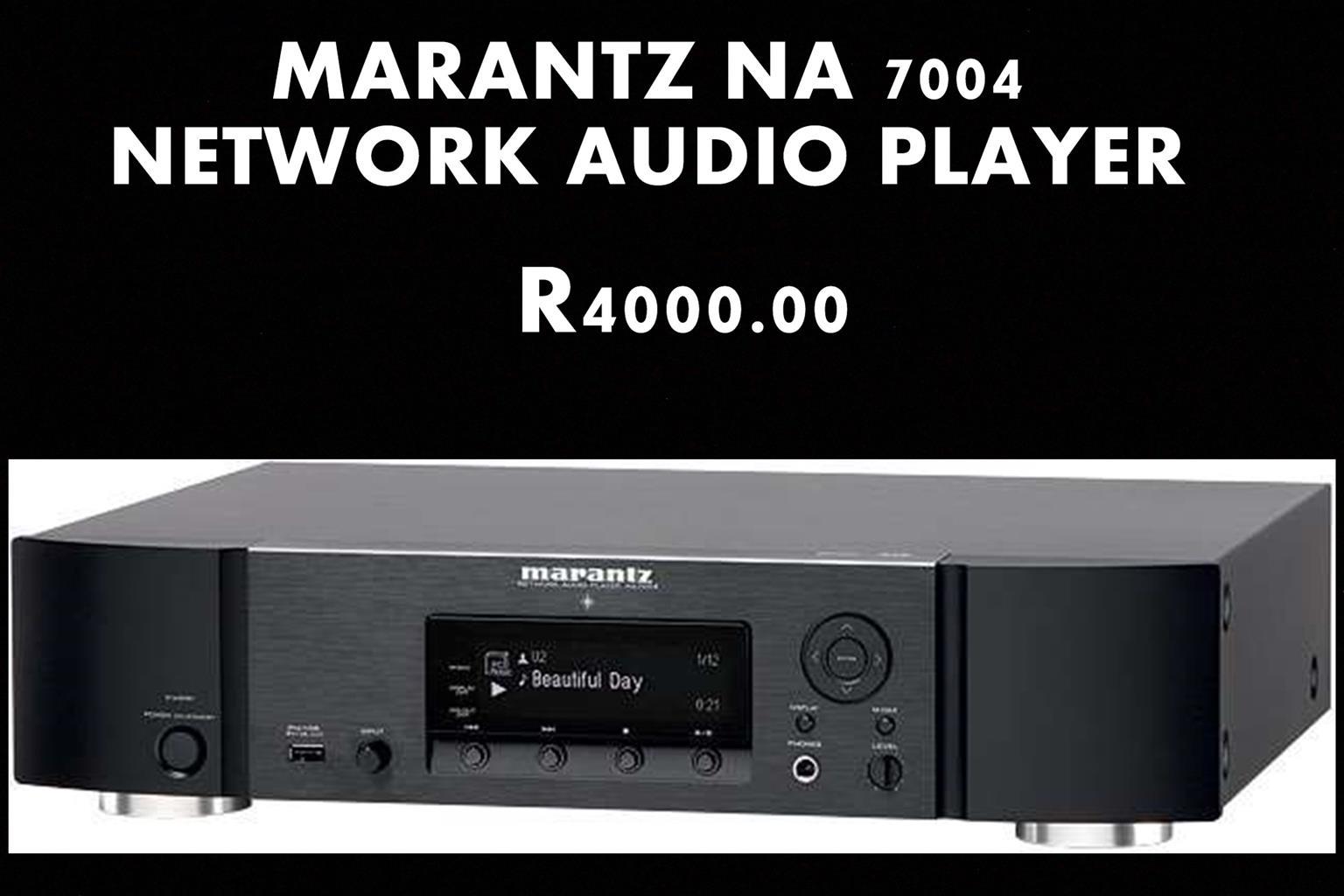 MARANTZ NETWORK AUDIO PLAYER NA7004