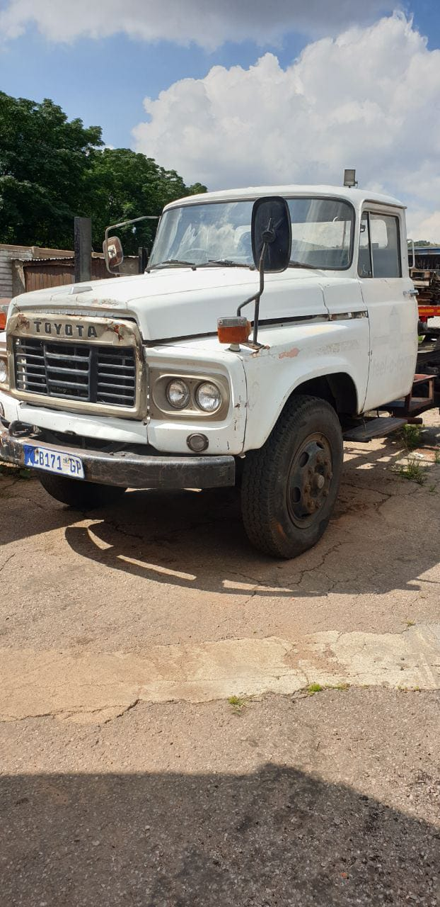 Toyota truck with 2 trailers for sale