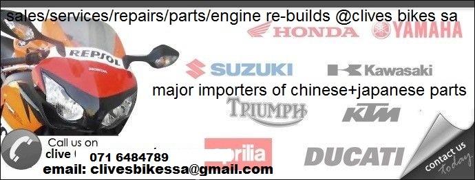 YAMAHA/KAWASAKI/SUZUKI/HONDA/DUCATI/MV AUGTA/BMW