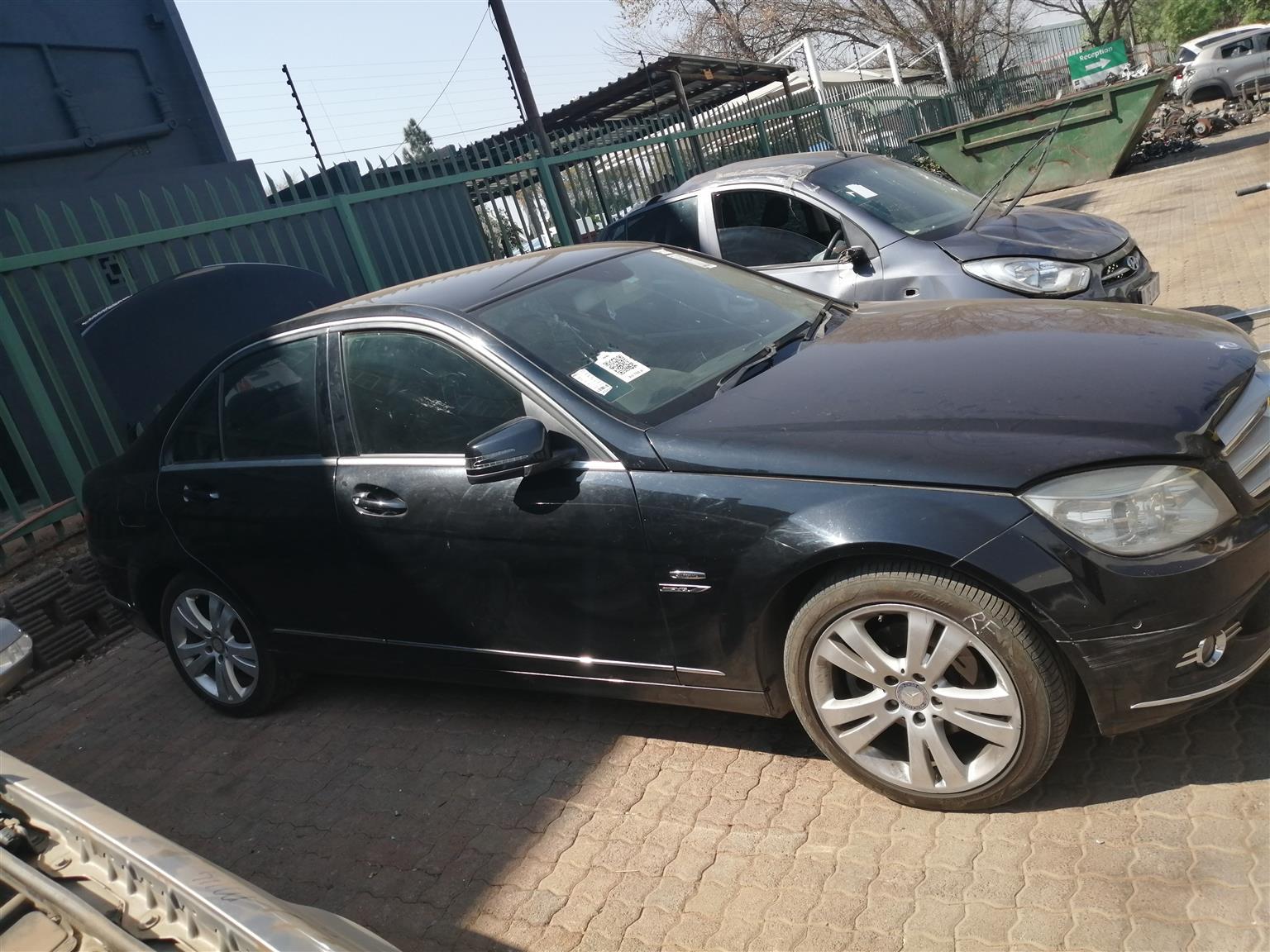 Kompressor C200 Mercedes stripping foe spares