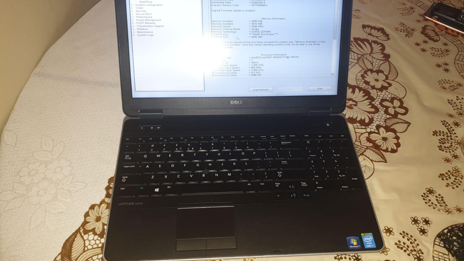 Dell E6540 core i7 4th Generationat a very good Price