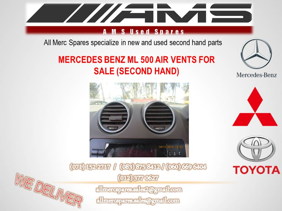MERCEDES BENZ ML 500 AIR VENTS FOR SALE