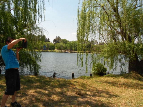 Large 2061m2 corner stand overlooking the Vaal River for sale