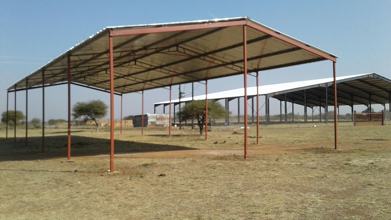 Steel Houses, Storage's, Chicken Houses, Roofs, Churches, Workshop and many more.
