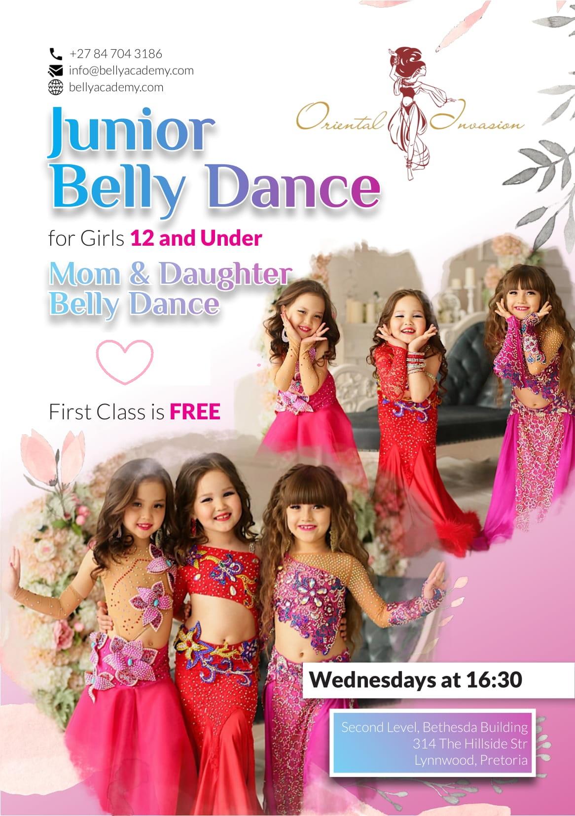 Junior Belly Dance Classes