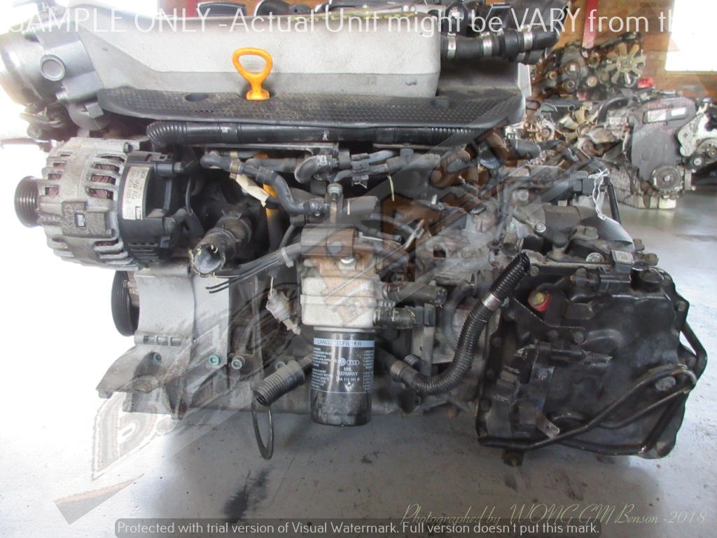 VOLKSWAGEN GOLF 4 -AUM 1.8L TURBO 20V Engine