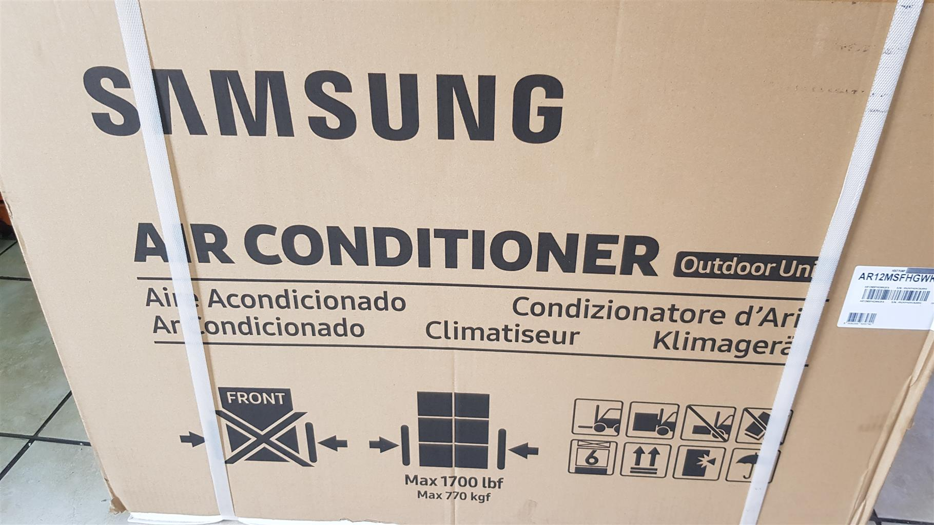 Samsung 12000 btu invertor aircon  for sale