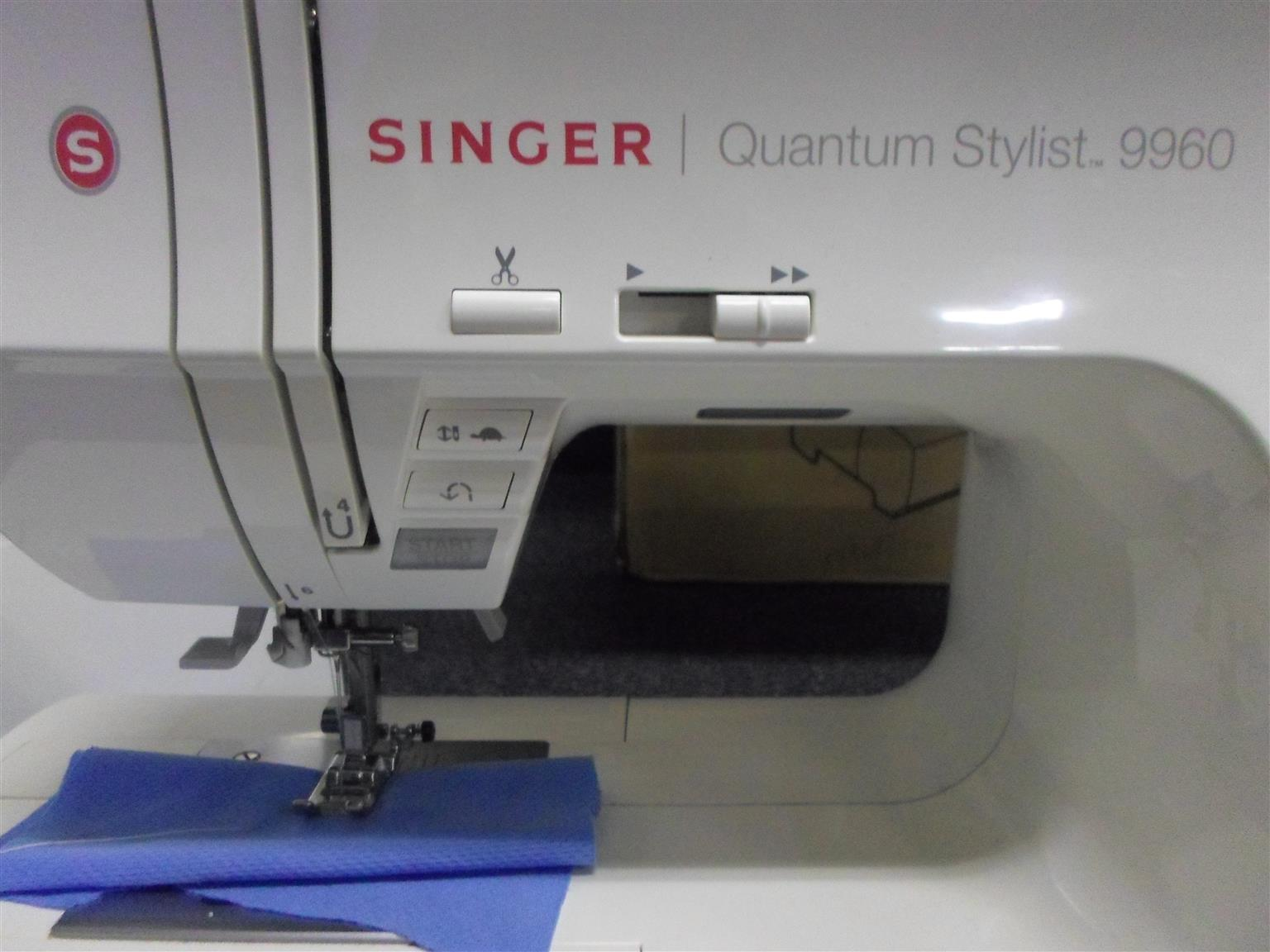 Singer Quantam Stylist 9960 Sewing Machine