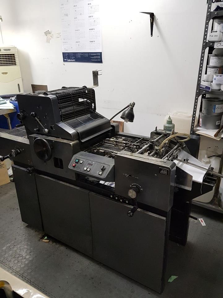 Multi 1650 Multilitho offset duplicator & Platemaker