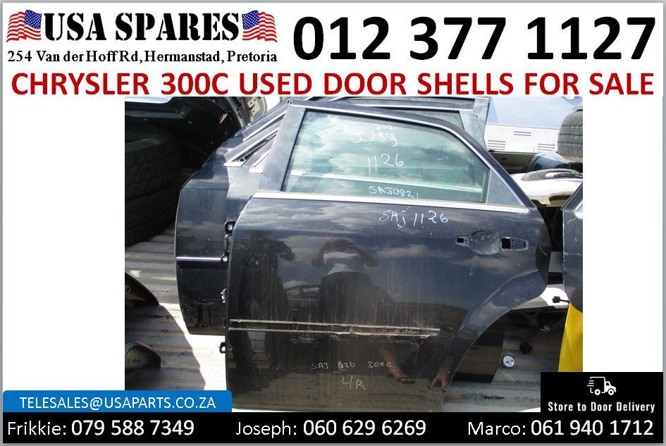 Chrysler 300C 2005-2010 used door shells for sale