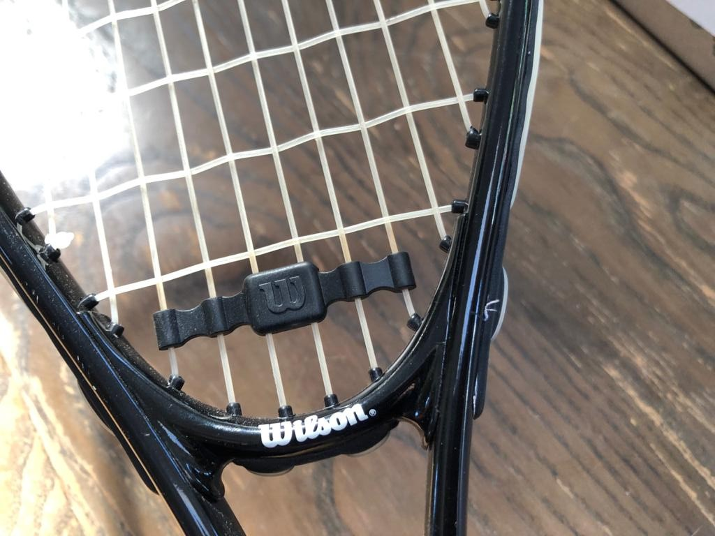 Wilson Defender Squash racquet with cover