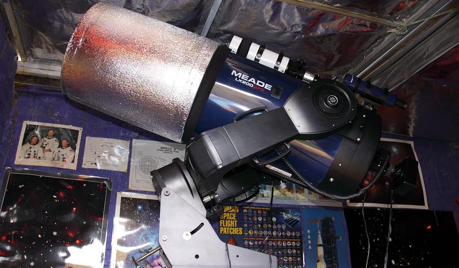 "Meade 10"" with EOS 350D canon camera"