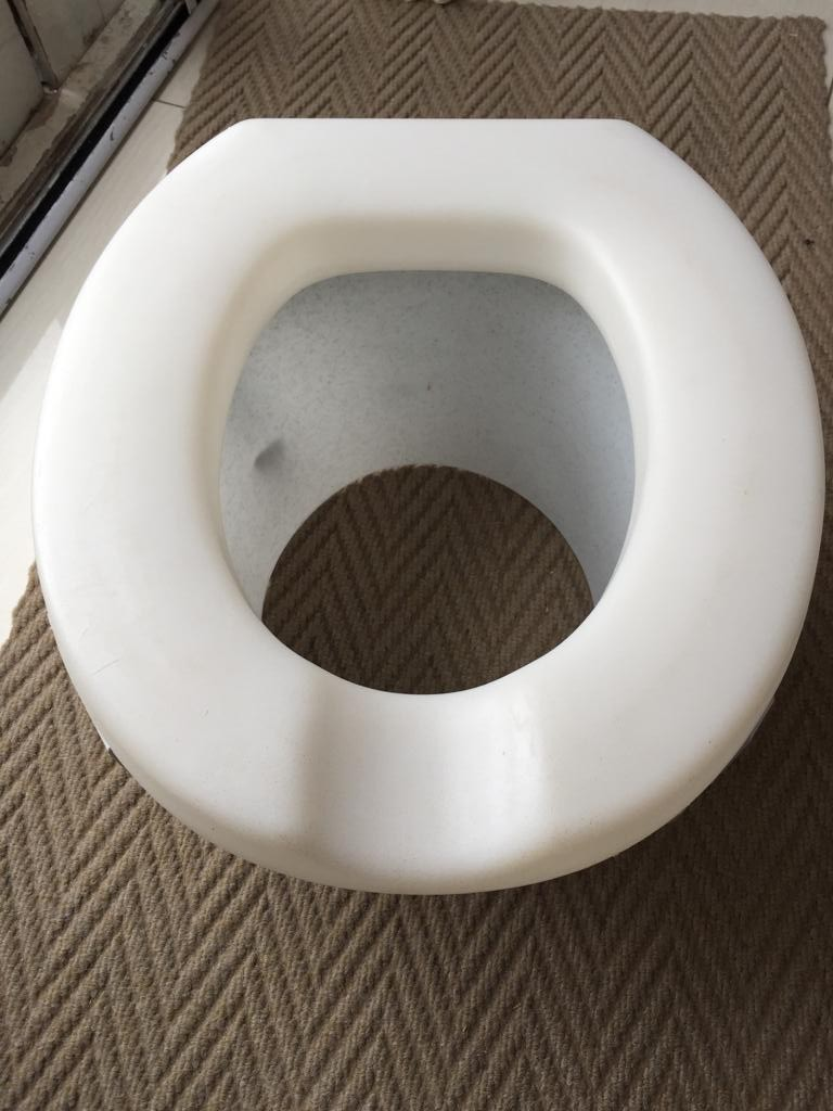 Raised Toilet Seat – adjustable
