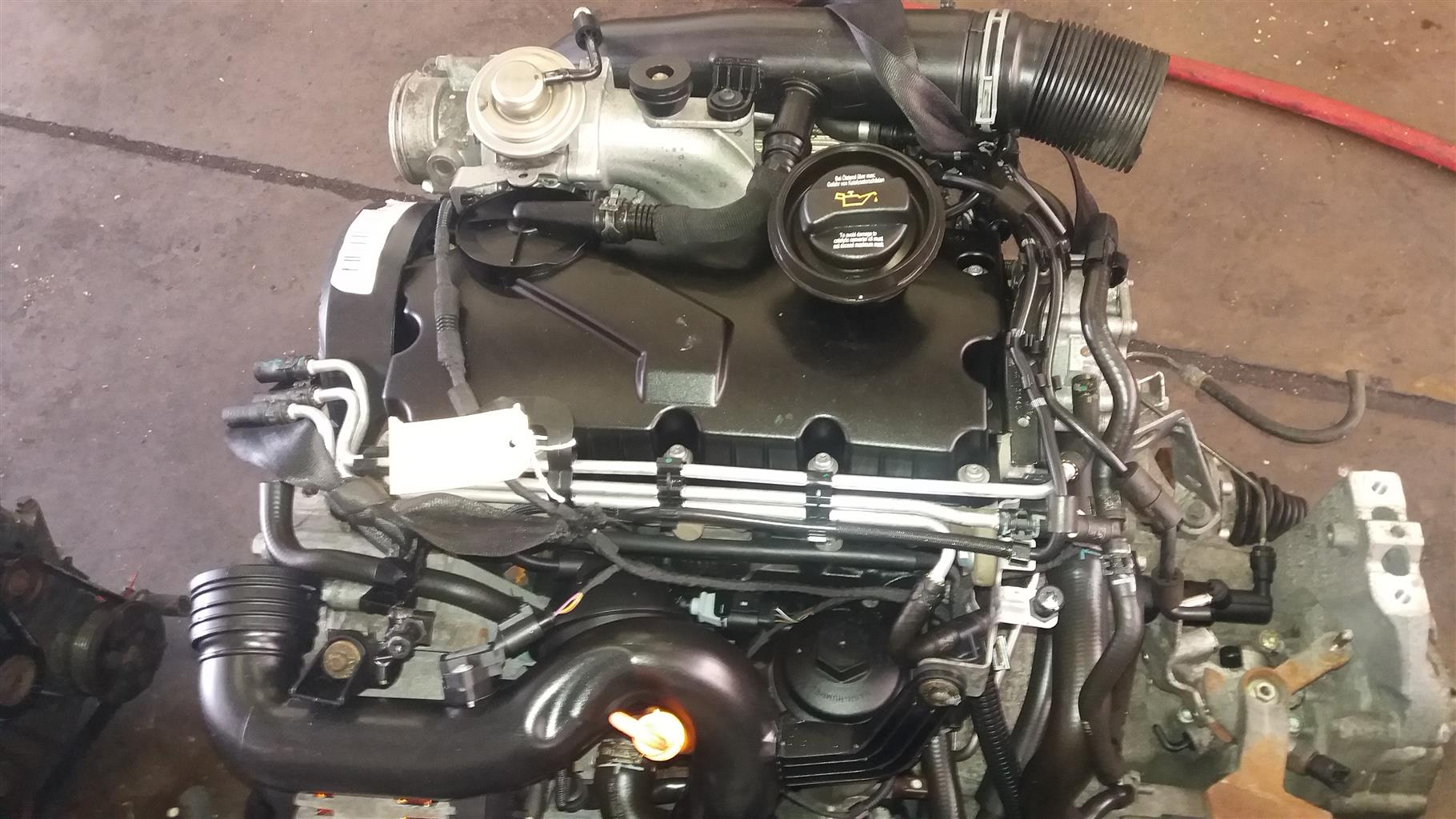 VW 1.9 TDi Engine  # BXE