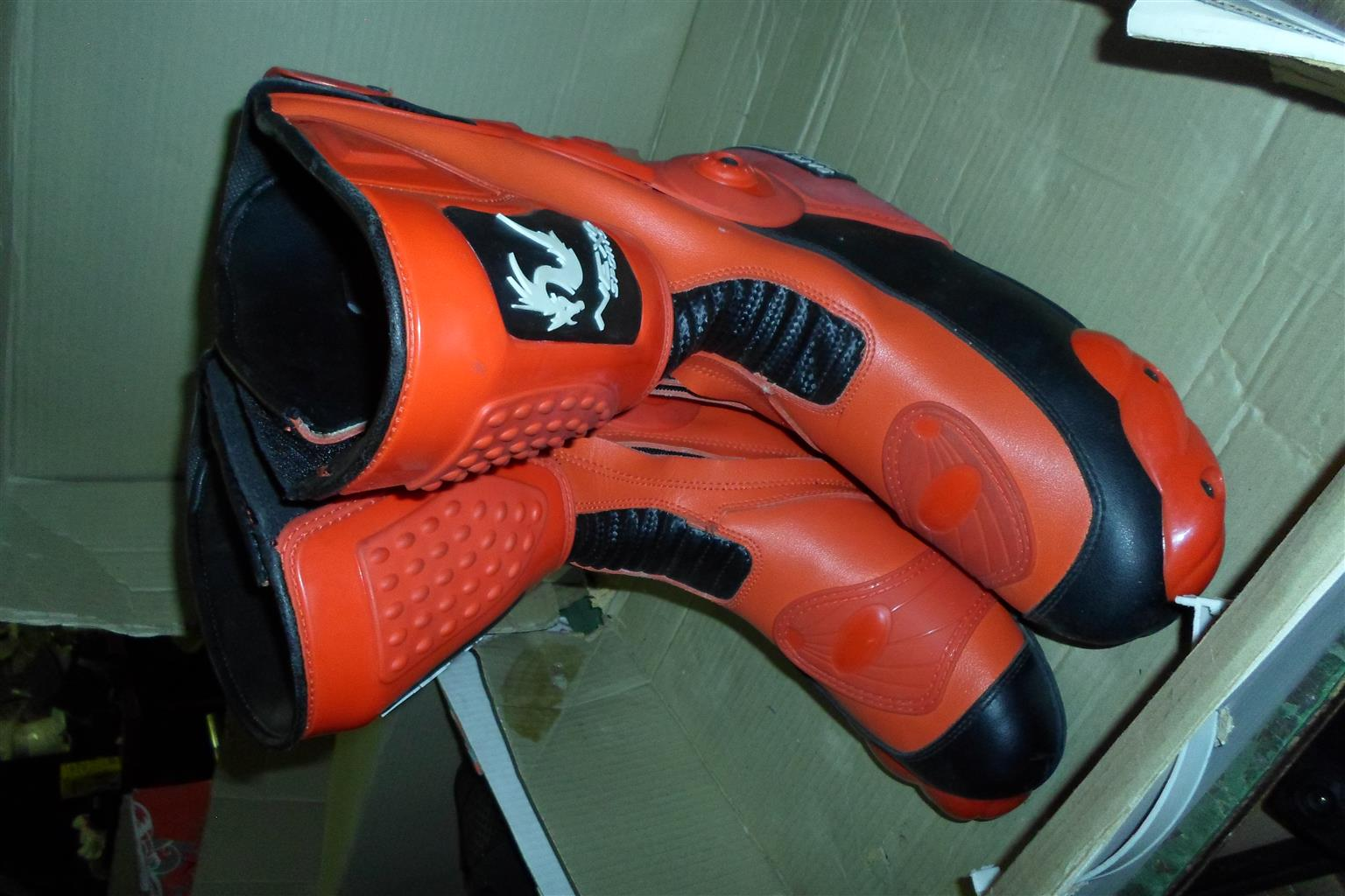 Size 45/11 Nexo Sports Motorcycle Boots