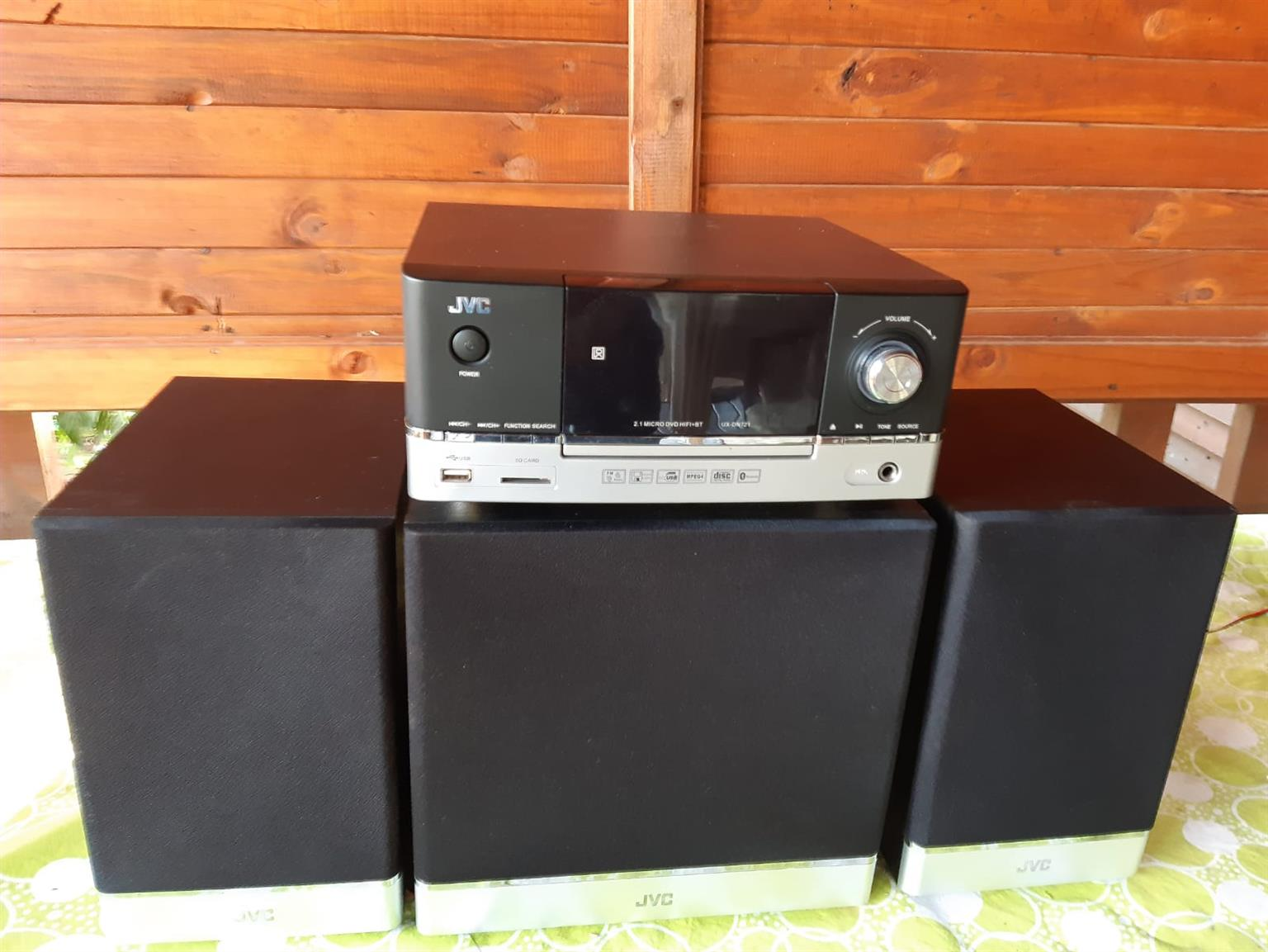 Selling a JVC surround system