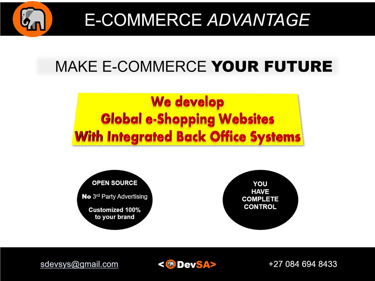 MAKE E-COMMERCE YOUR FUTURE