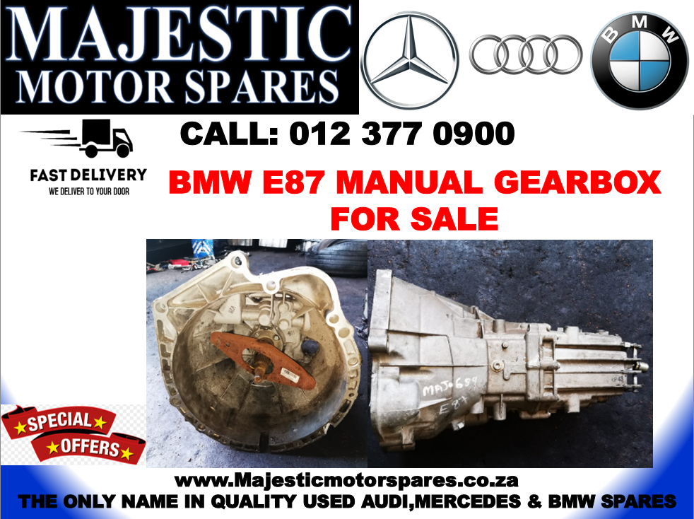 BMW E87 used manual gearbox for sale