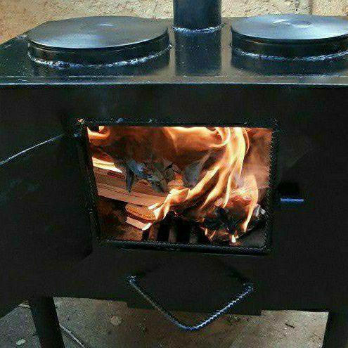 Wood Burning steel stove