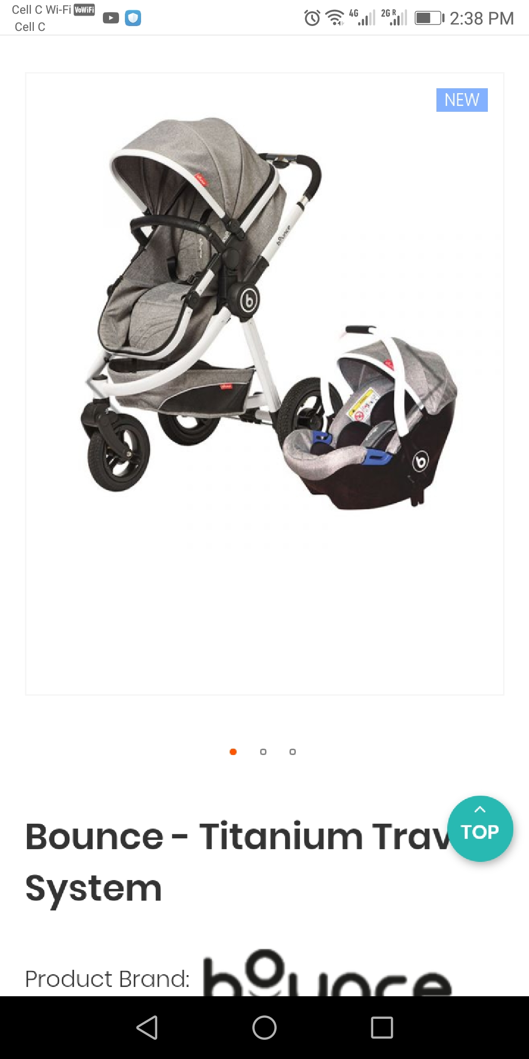 Baby bounce traveling systems