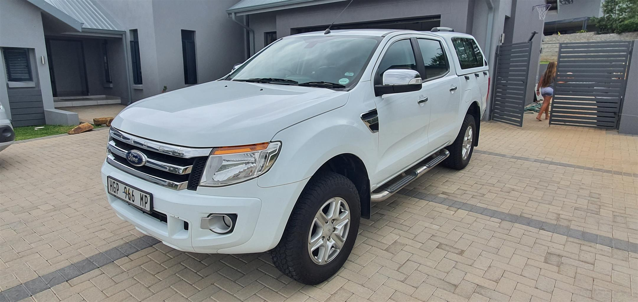 2014 Ford Ranger 3.2 double cab Hi Rider XLT auto