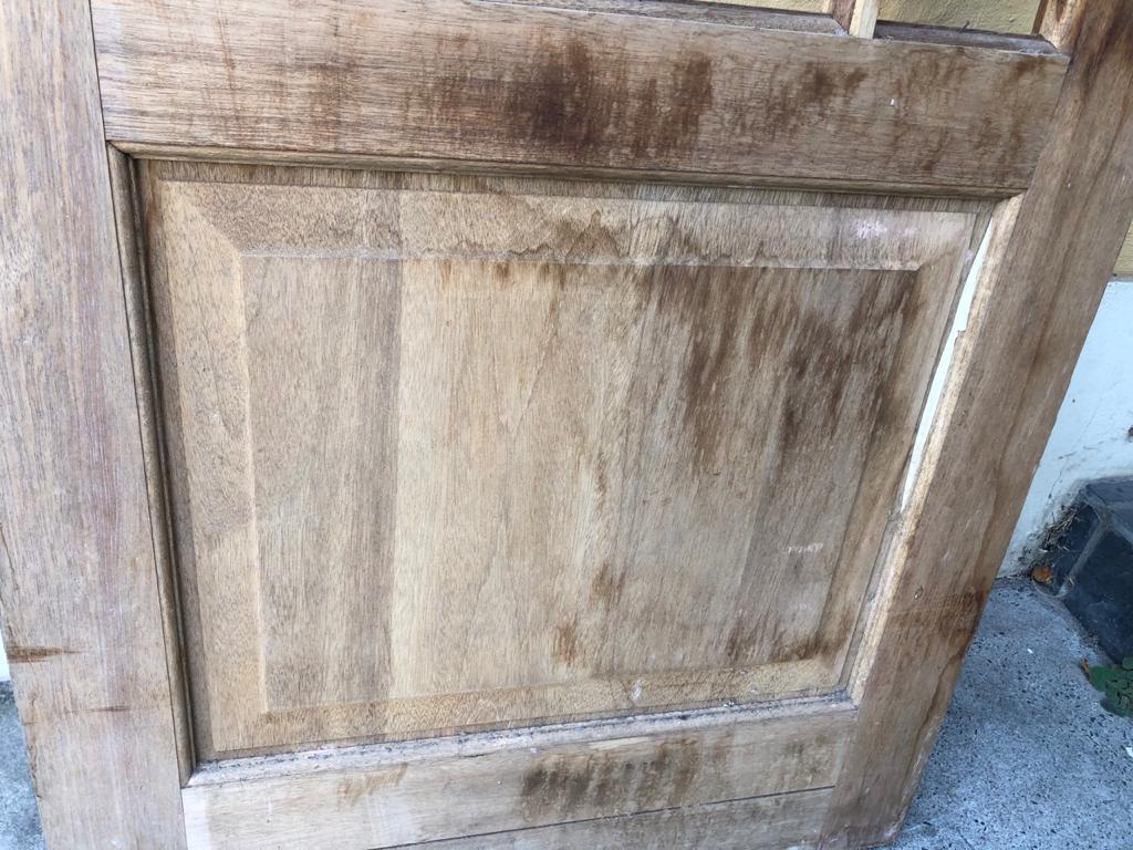 Meranti Happy Door - as new - 76cm wide x 203cm