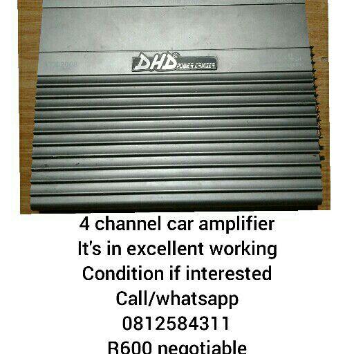 4 channel car amplifier