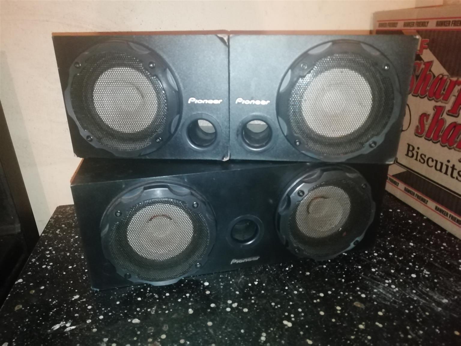 Pioneer Todoroki Surround Sound Speakers