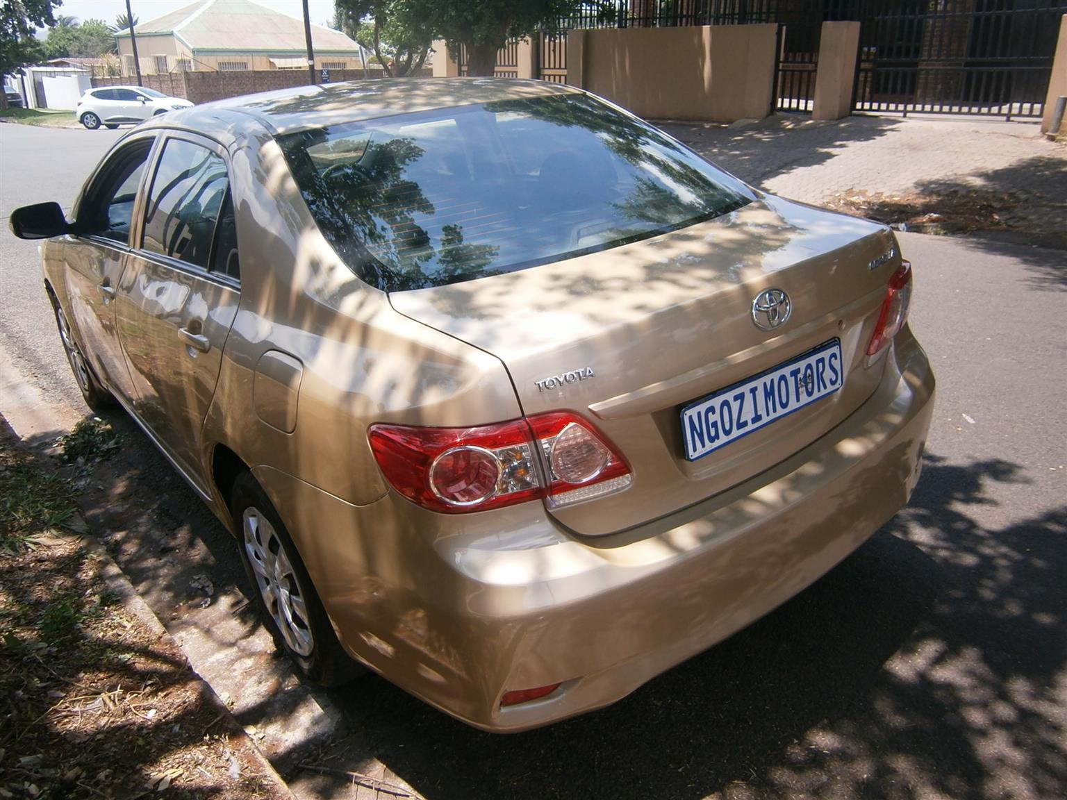 2012 Toyota Corolla 1.6 Professional