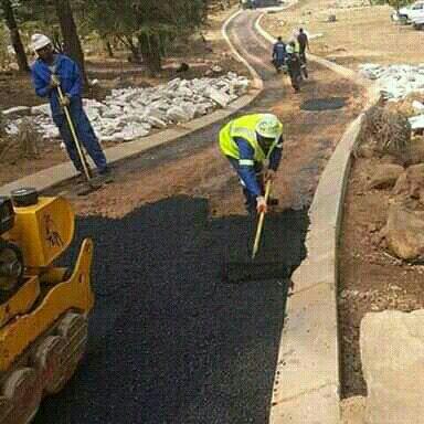 Tarrring construction in kzn