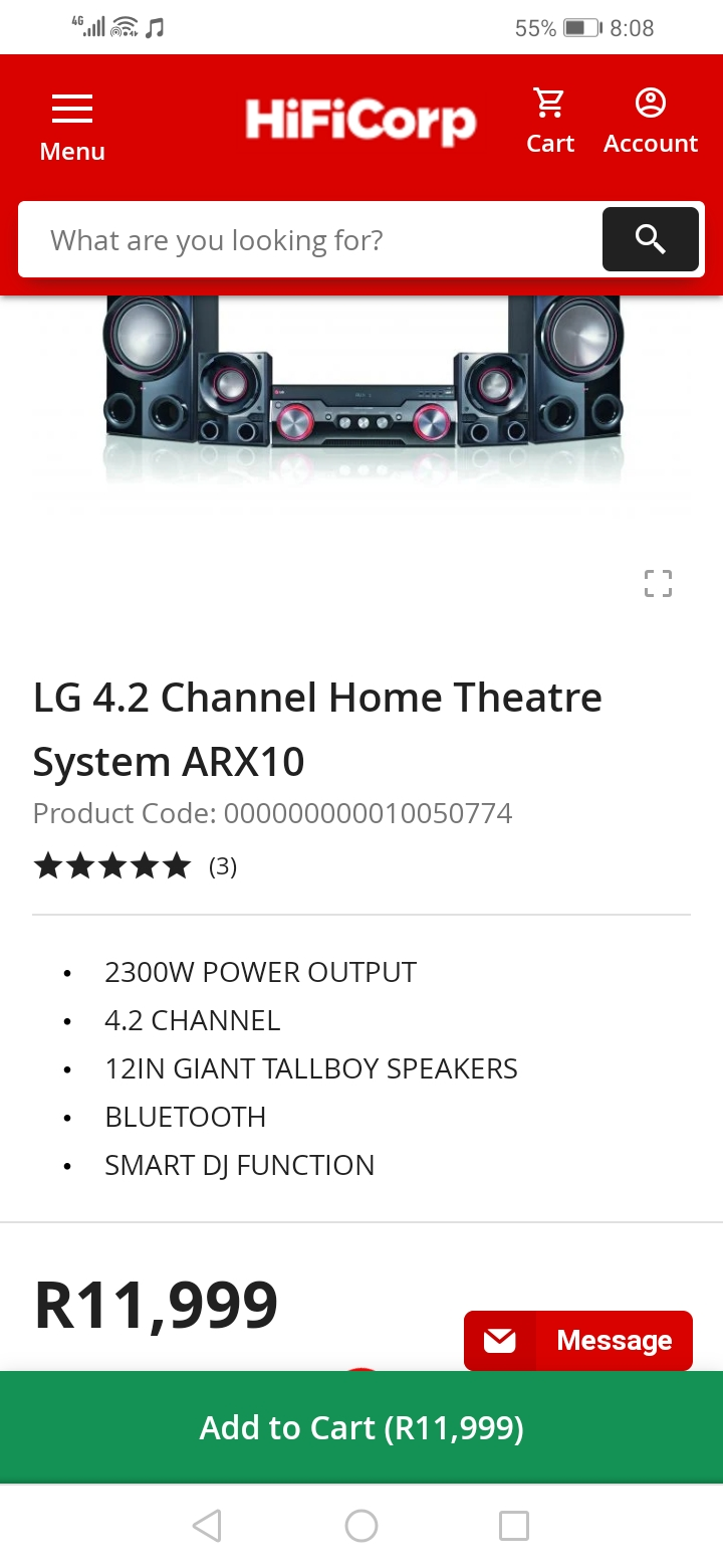 LG 4.2 Channel Component