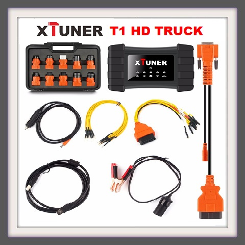 TRUCK DIAGNOSTIC TOOL: XTUNER T1 HEAVY DUTY TRUCK WITH TABLET AND INSTALLED SOFTWARE