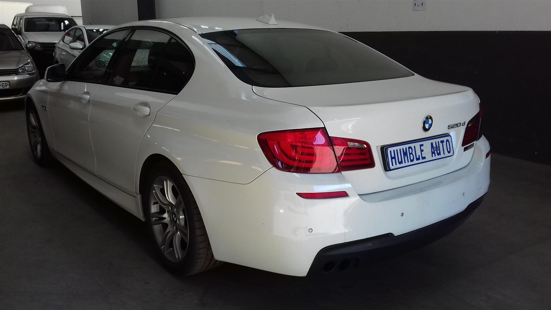 2013 BMW 5 Series 520d