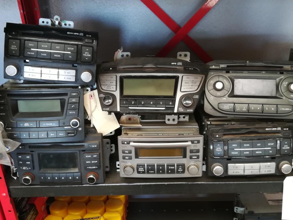 Car Radio's - Hyundai / Kia used