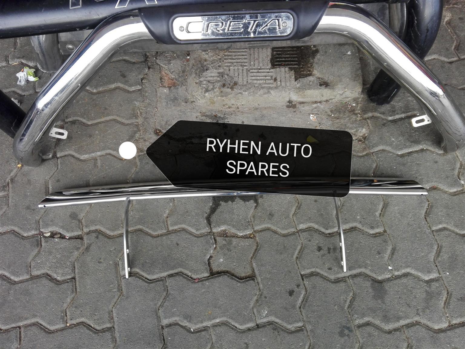 Hyundai Creta chrome bullbar