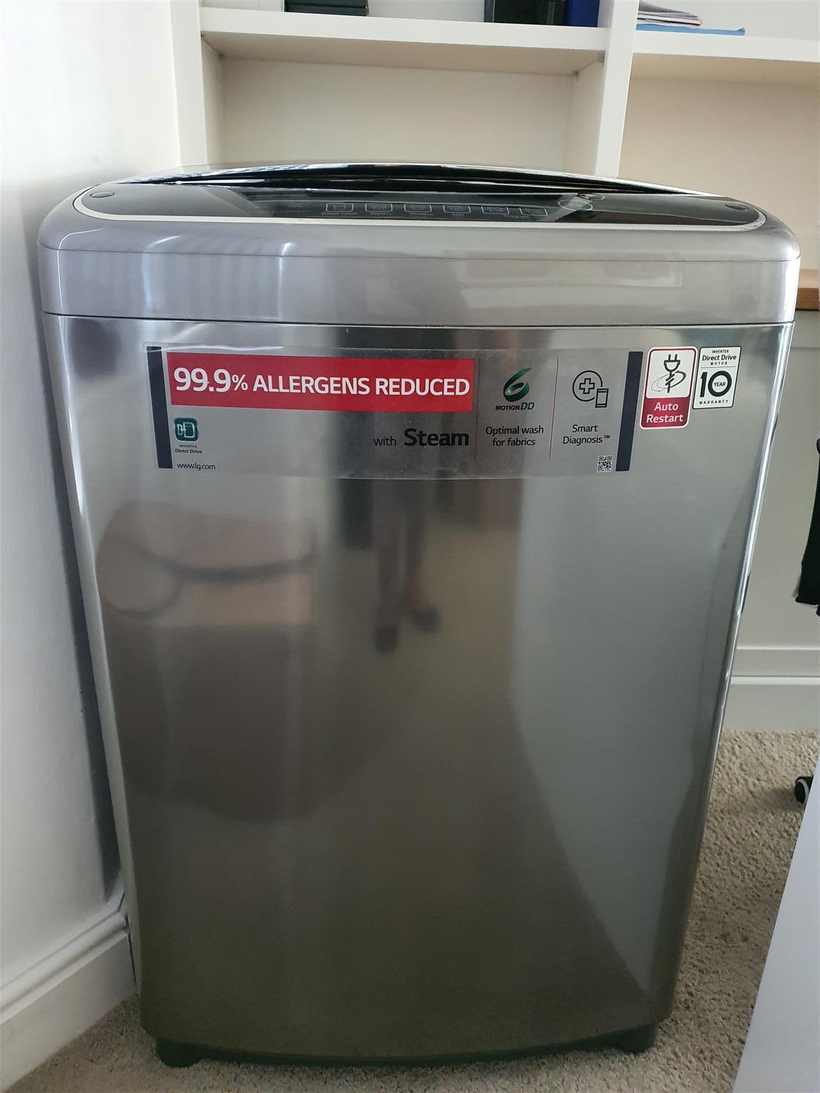 large almost new washing machine