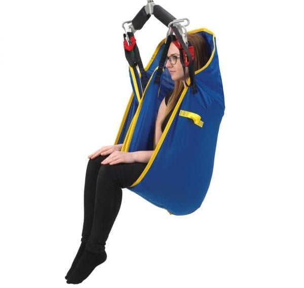 MR WHEELCHAIR HYDRAULIC PATIENT LIFTER WITH SLING
