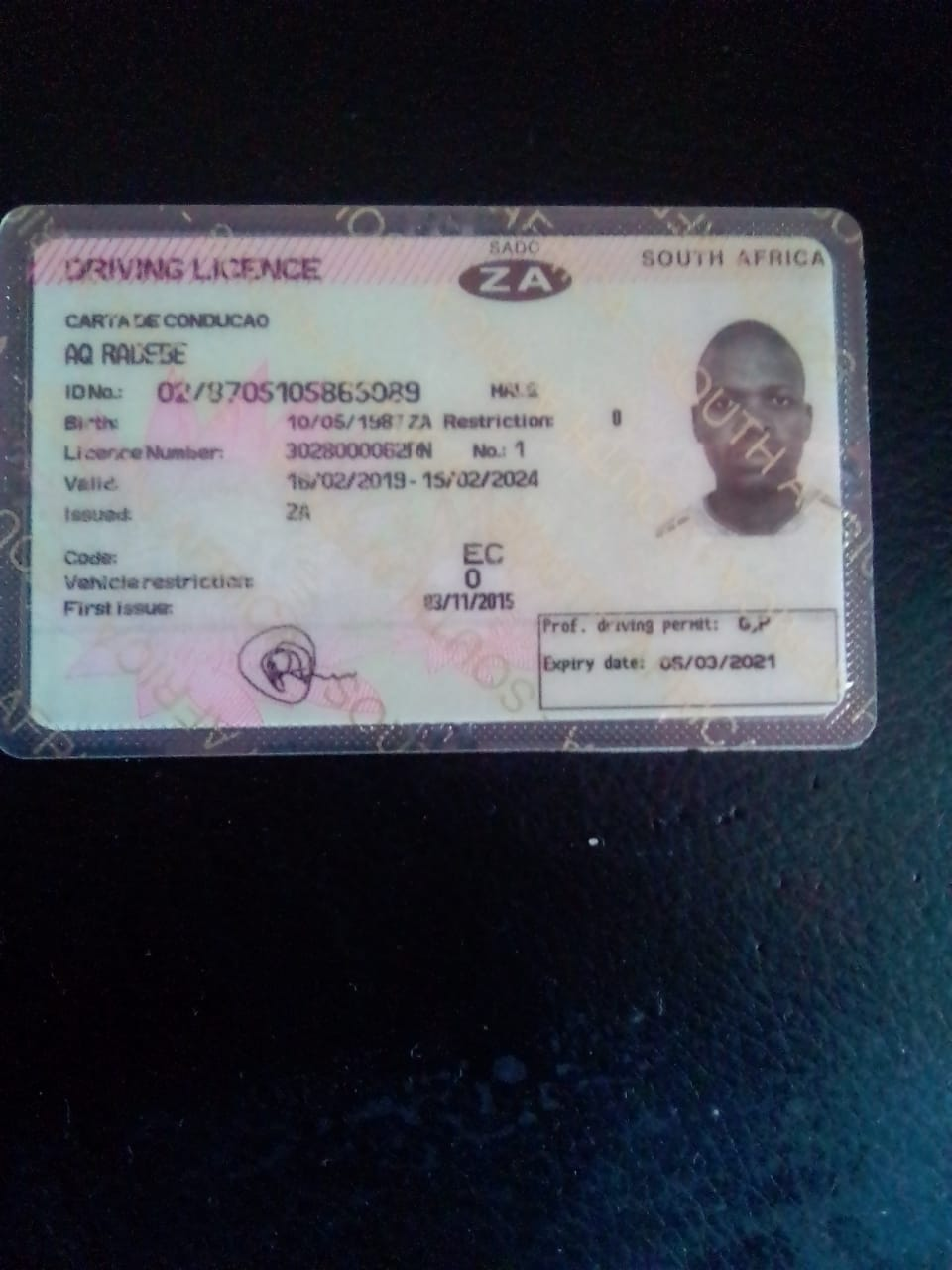 drivers license south africa renewal