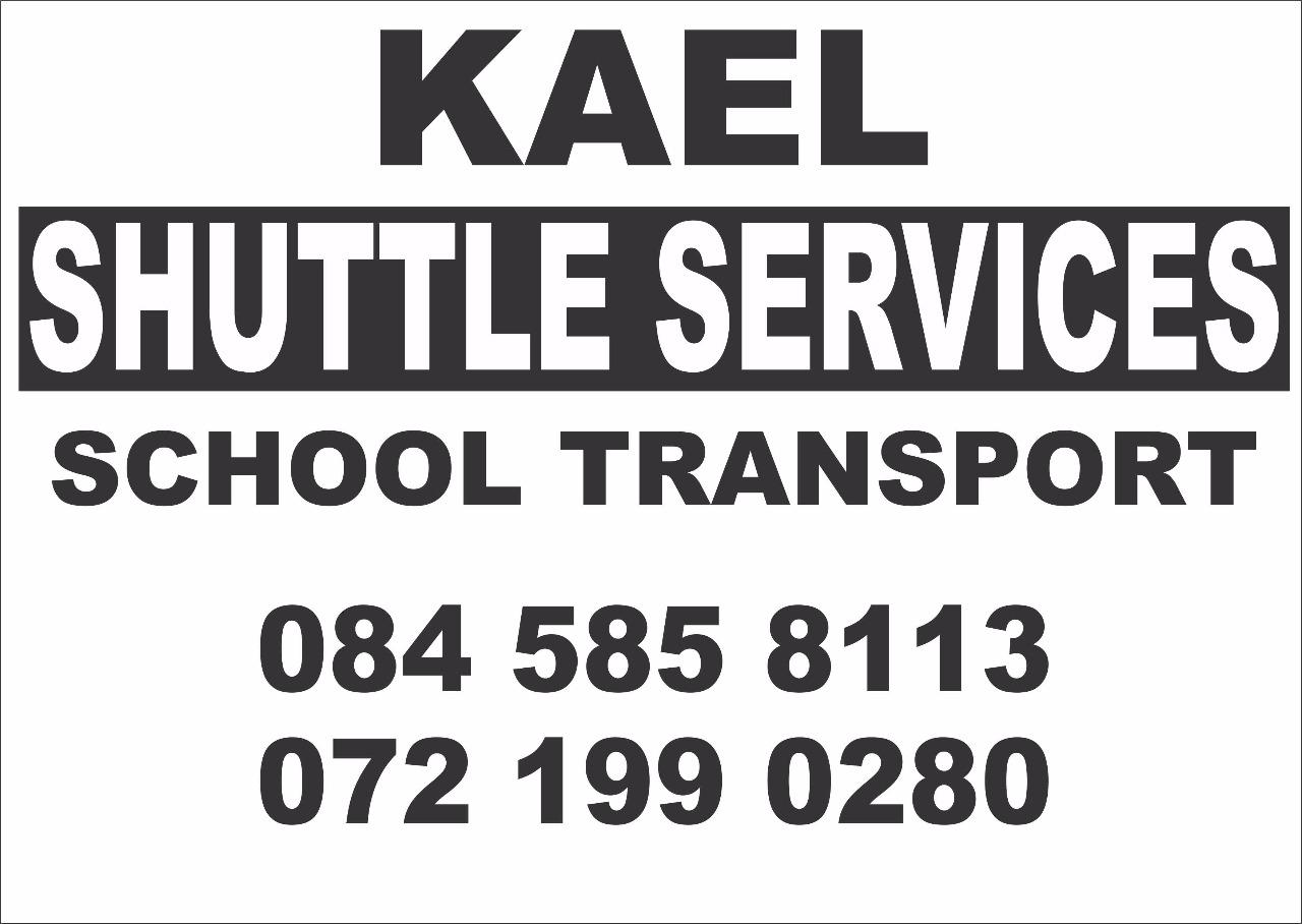 Kael Shuttle - School transport within Krugersdorp
